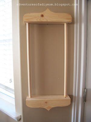 How To Build A Karate Belt Display Rack Crafts Karate