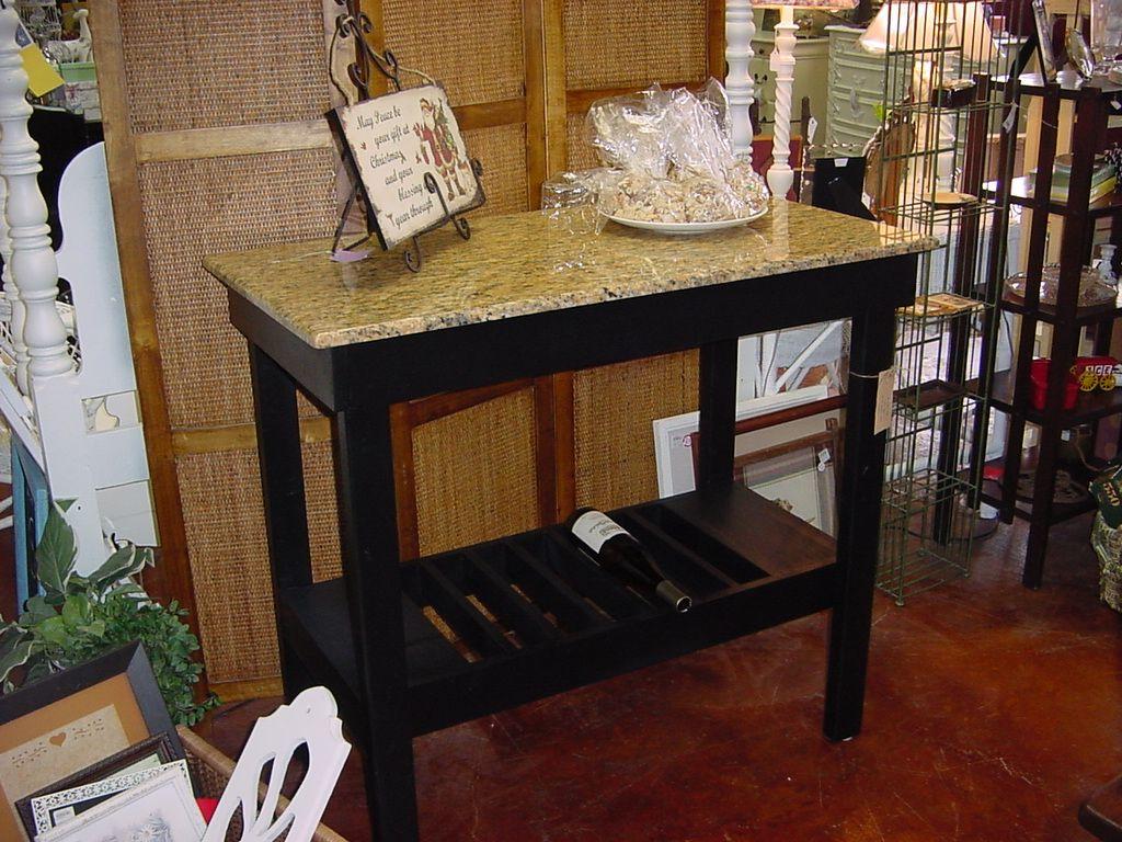 Granite Top Wine Bar Buffet Table Outdoor Kitchen Bars Bar Table Kitchen Tops Granite