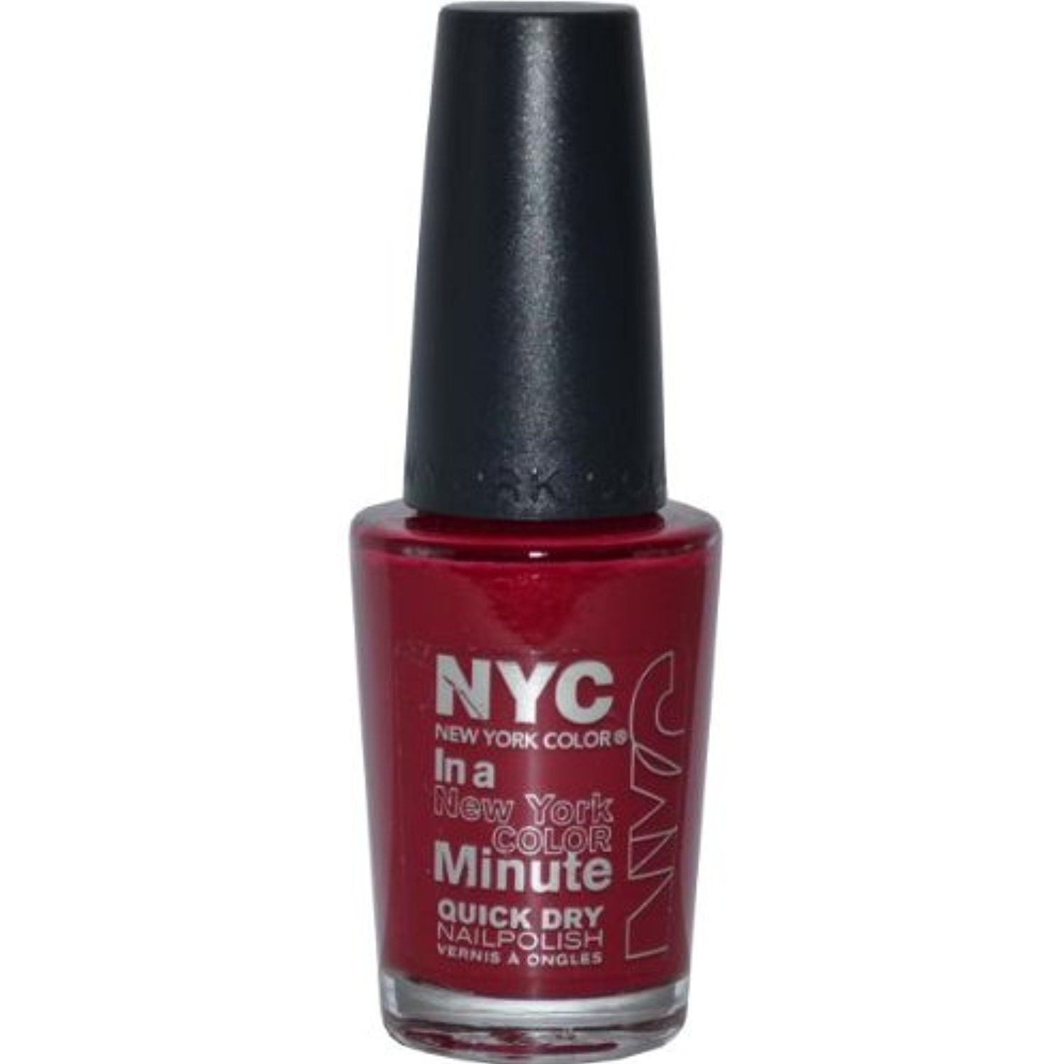 NYC, In a New York Color Minute, Quick Dry Nail Polish with Minerals, Penn Station (230B), .33 Fl. Oz. *** To view further for this item, visit the image ...