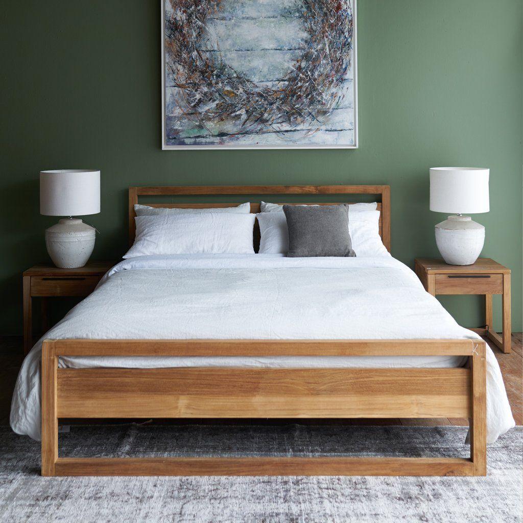 Teak Bed Frame Light Frame Bed Australia Size Wood Bedroom Sets Wood Bed Design Minimalist Bed Frame