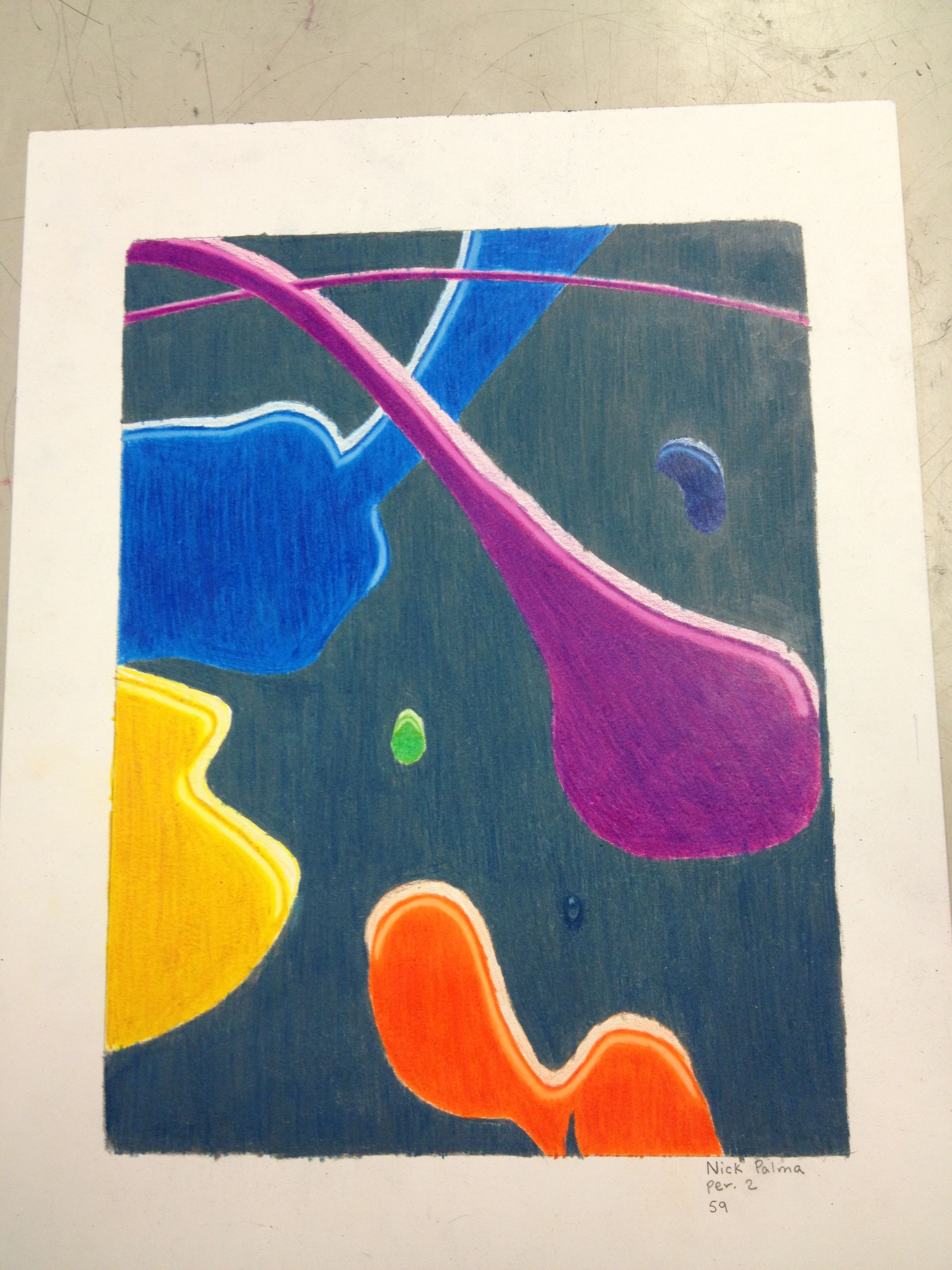 Paint Splatter Drawing : paint, splatter, drawing, Colored, Pencil, Paint, Splatters, Drawing, Projects,, Painting,