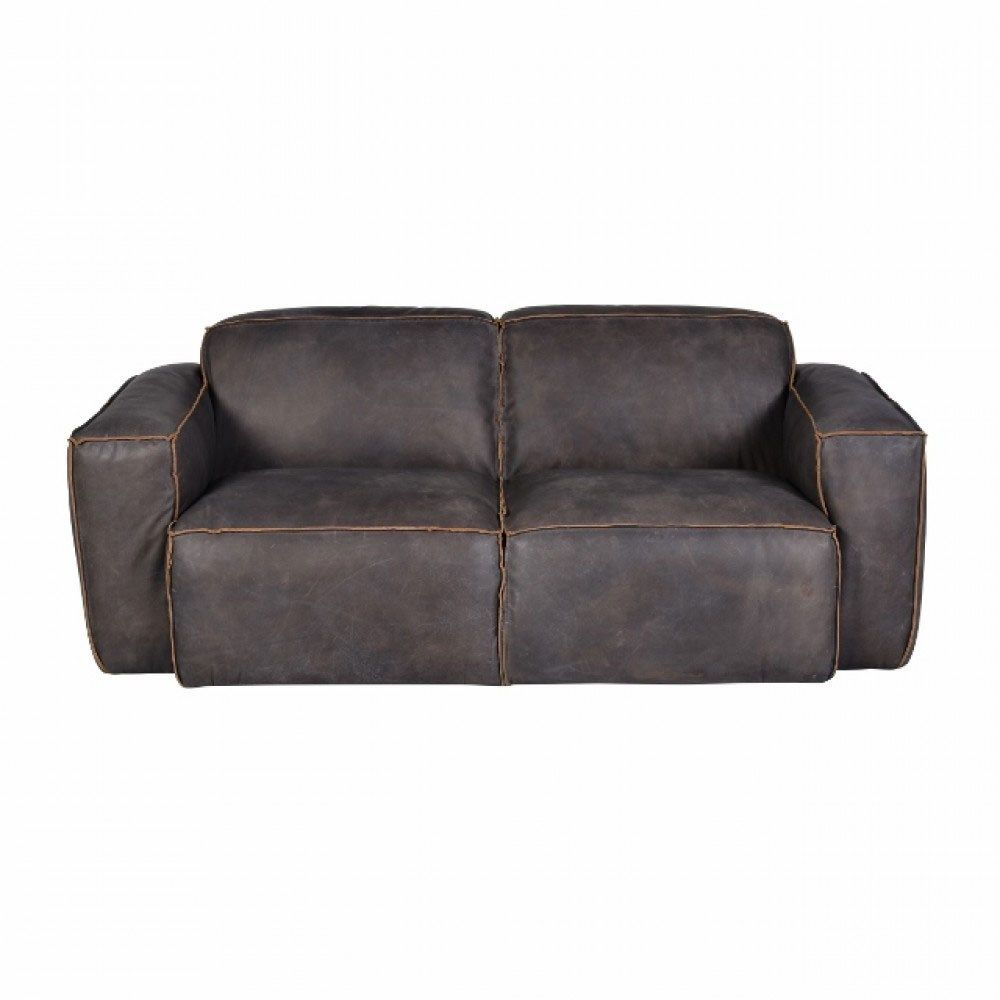 Living Room :: Leather Sofas :: Halo Buddy Medium 2 Seater Sofa Available In