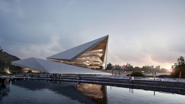 Art Design International : Busan international arts center northpoint iz i d e