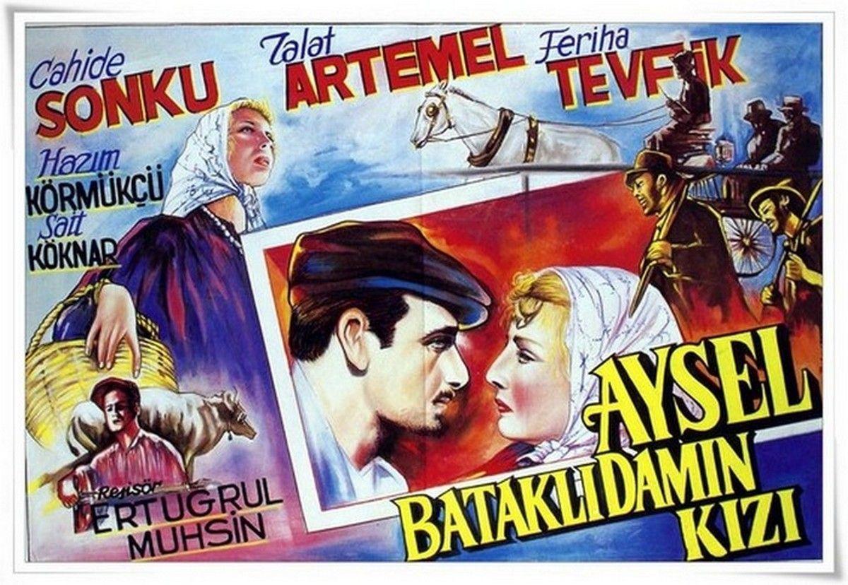 AYSEL BATAKLI DAMIN KIZI 1934 | Film afişleri, Film, Eski film afişleri