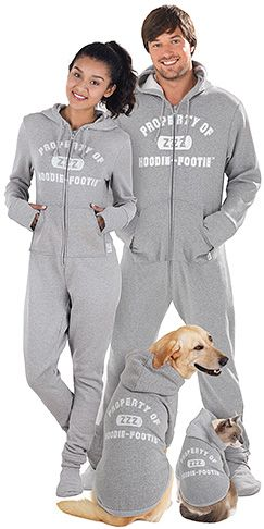 02a6d5a39856 Hoodie-Footie™ - Varsity Matching Loungewear for Men