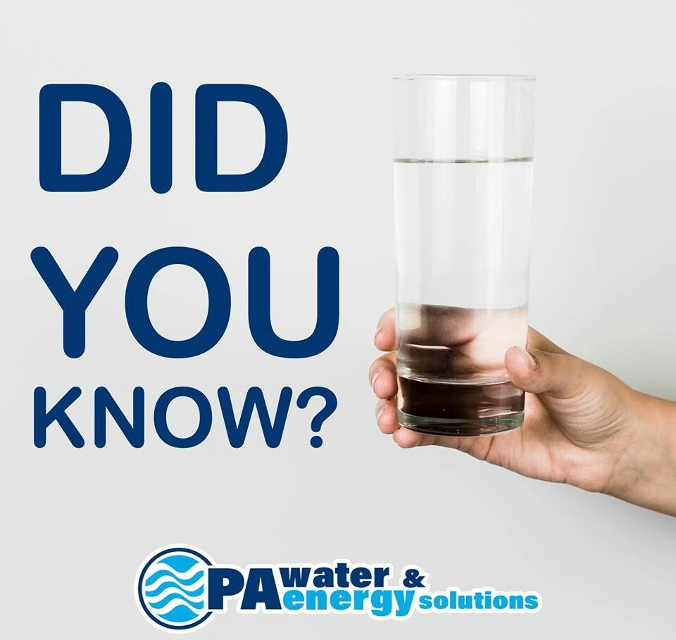 Pin By Pa Water Energy Solutions Inc On Water Facts Water Facts Water Energy Water Treatment