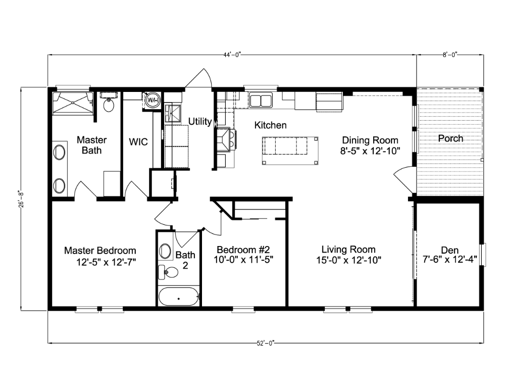 20+ Farmhouse modular home floor plans info