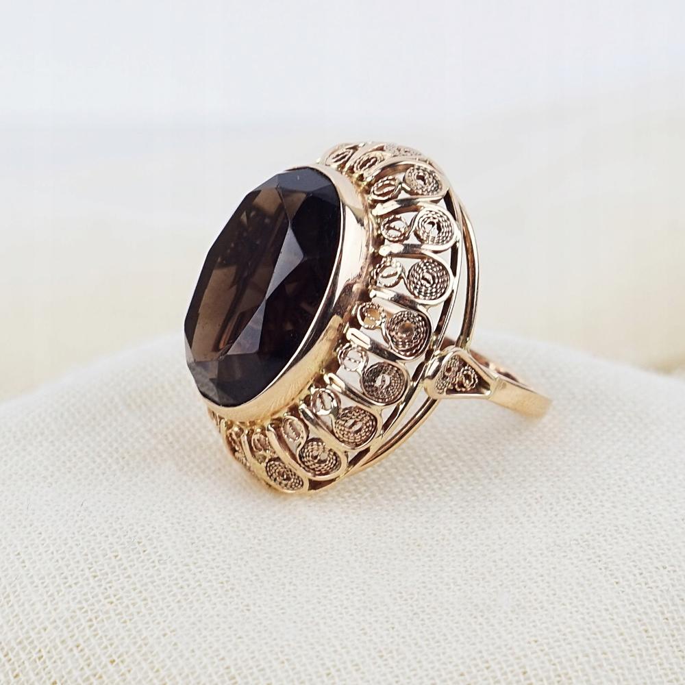 Pierscionek Imago Artis Krakow Zloto 0 583 8758771953 Oficjalne Archiwum Allegro Signet Ring Jewelry Arty