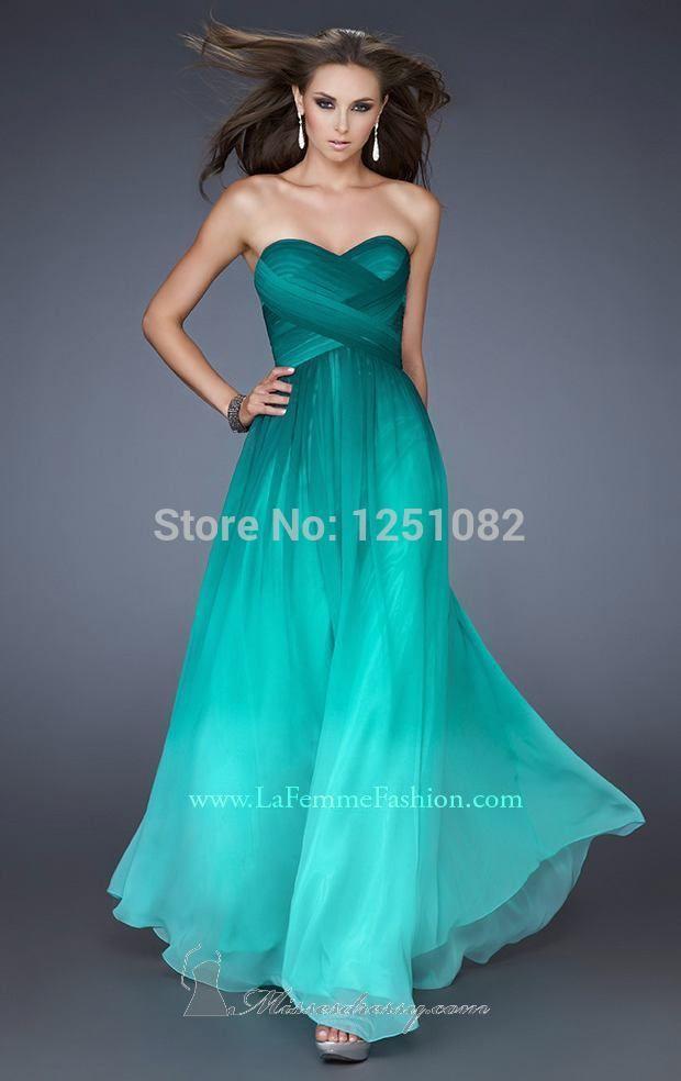 9b3571184 vestido de color mar caribe para evento formal