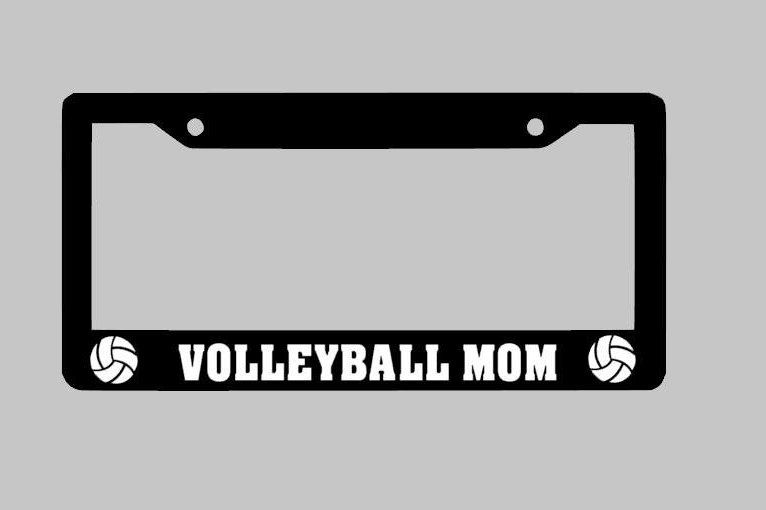 Volleyball, Volleyball License Plate Frame, Volleyball Gifts ...