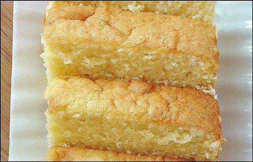 Receta pastel de mantequilla casero