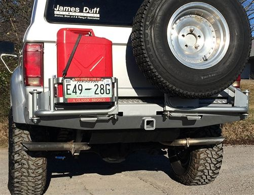 Bronco 2 Ii Plate Carrier Receiver Bumper Can Jack Bronco Ii Ford Bronco Ii Bronco