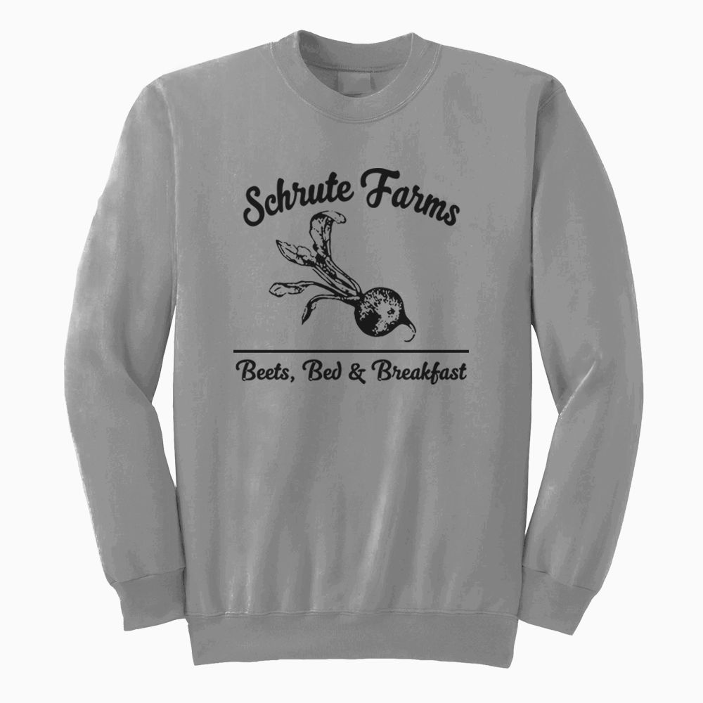 Predownload: Schrute Farms Sweatshirt For Men Women Sweatshirts Long Sleeve Tshirt Men Sweatshirts Women [ 1000 x 1000 Pixel ]