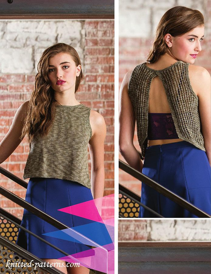 Knit This Stunning Tank Top For Your Young Daughtereasy To Read