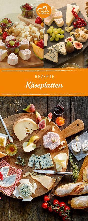 Käseplatten | Köstliche Kreationen aus Käse-Spezialitäten