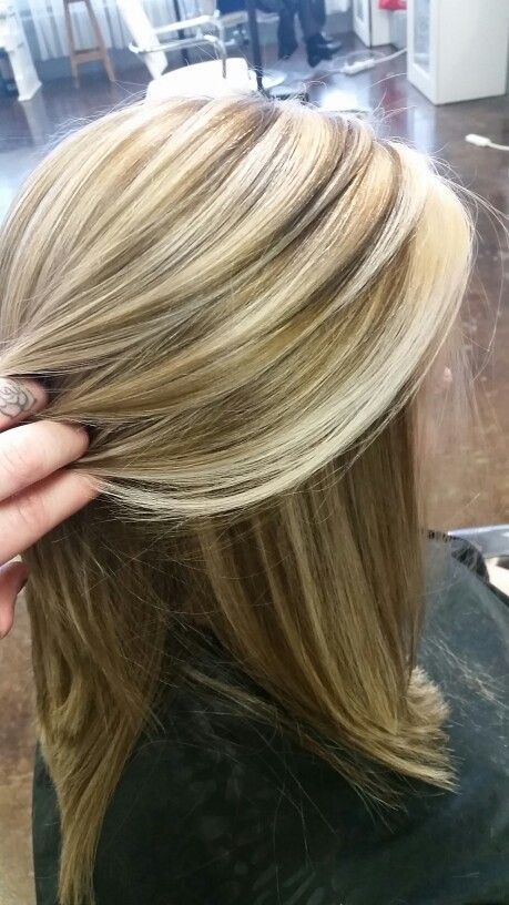Pin By Bren Lee On Hair Color Pinterest Blonde Highlights Heavy