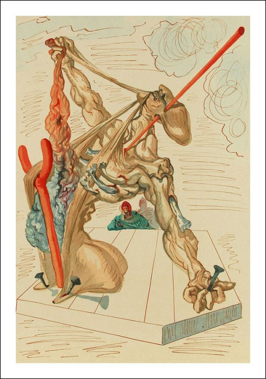 Dante's Divina Comedia, Salvador Dali