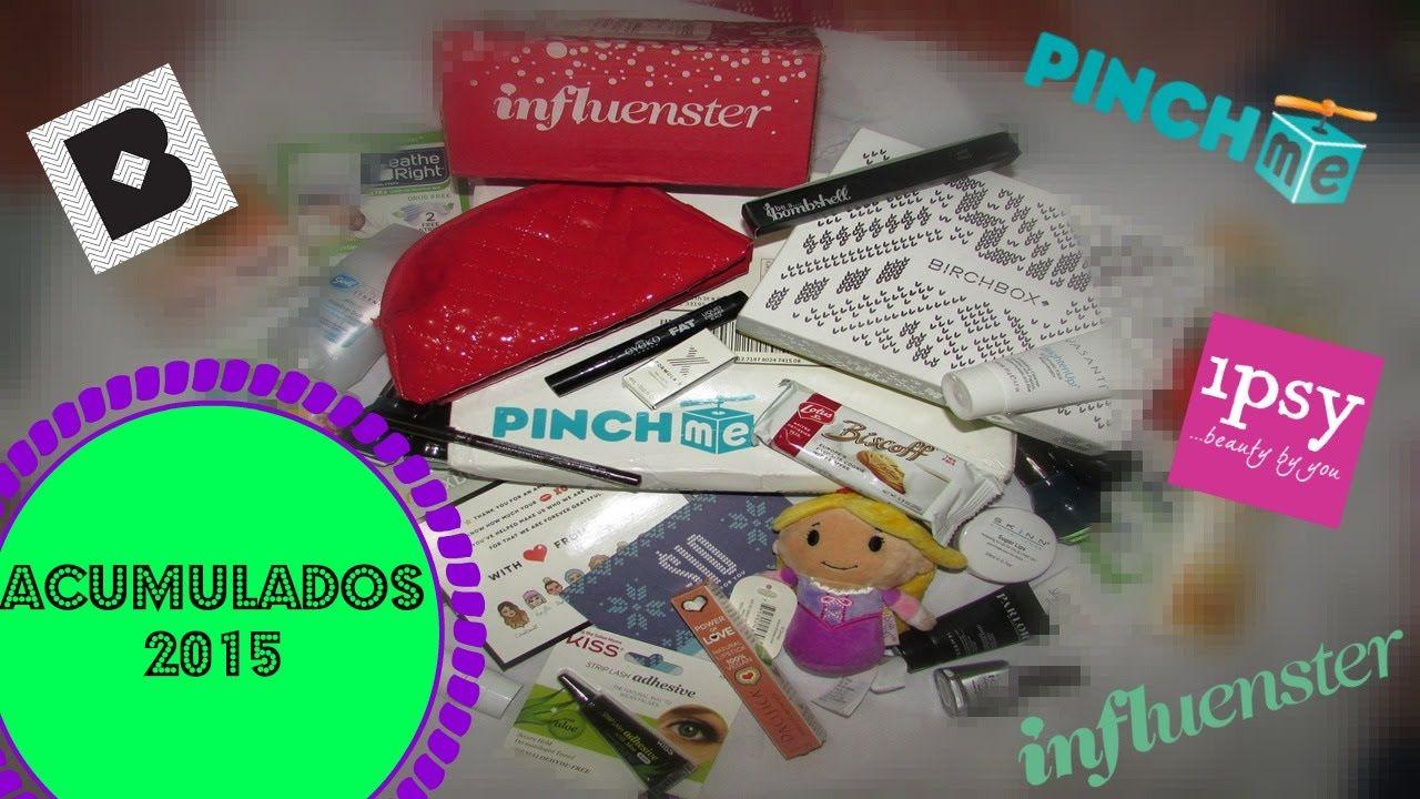 Acumulados 2015 Ipsy, Birchbox, Influenster, Pinch Me | Atos Innovation