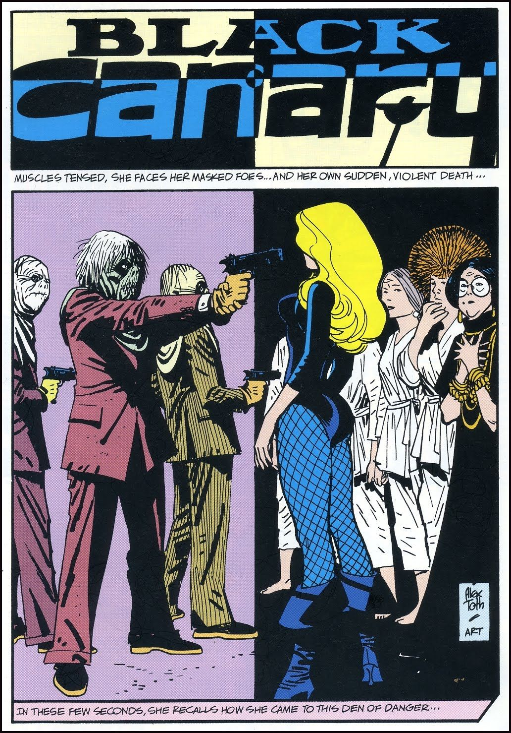 Adventure Comics n°418 (Black Canary 1/2) - Art by Alex Toth