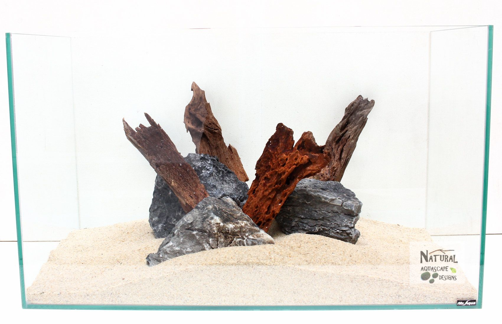 Marina Naturals Malaysian Driftwood with Plants