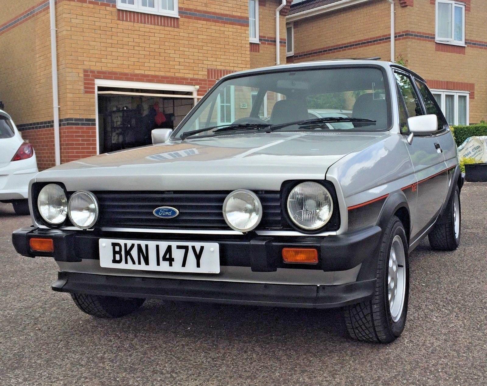 Ebay Ford Fiesta Xr2 Mk1 1982 Y Reg 1980s Cars Ford Fiesta