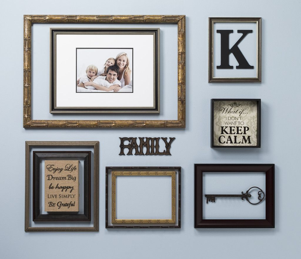 Open back frames wall display decor pinterest display walls creating with open back frames is a unique way to display art photos and accessories supplies at craft warehouse jeuxipadfo Images