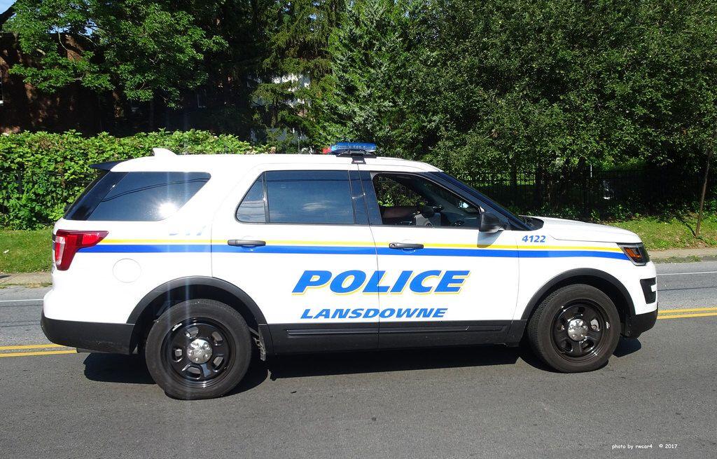 Lansdowne Pa Police Ford Police Interceptor Utility 3 Ford Police Police Cars Police