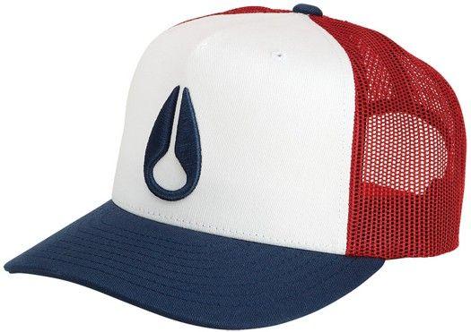 Nixon Deep Down Trucker Hat - royal - Mens Clothing  Hats  Beanies  Hats