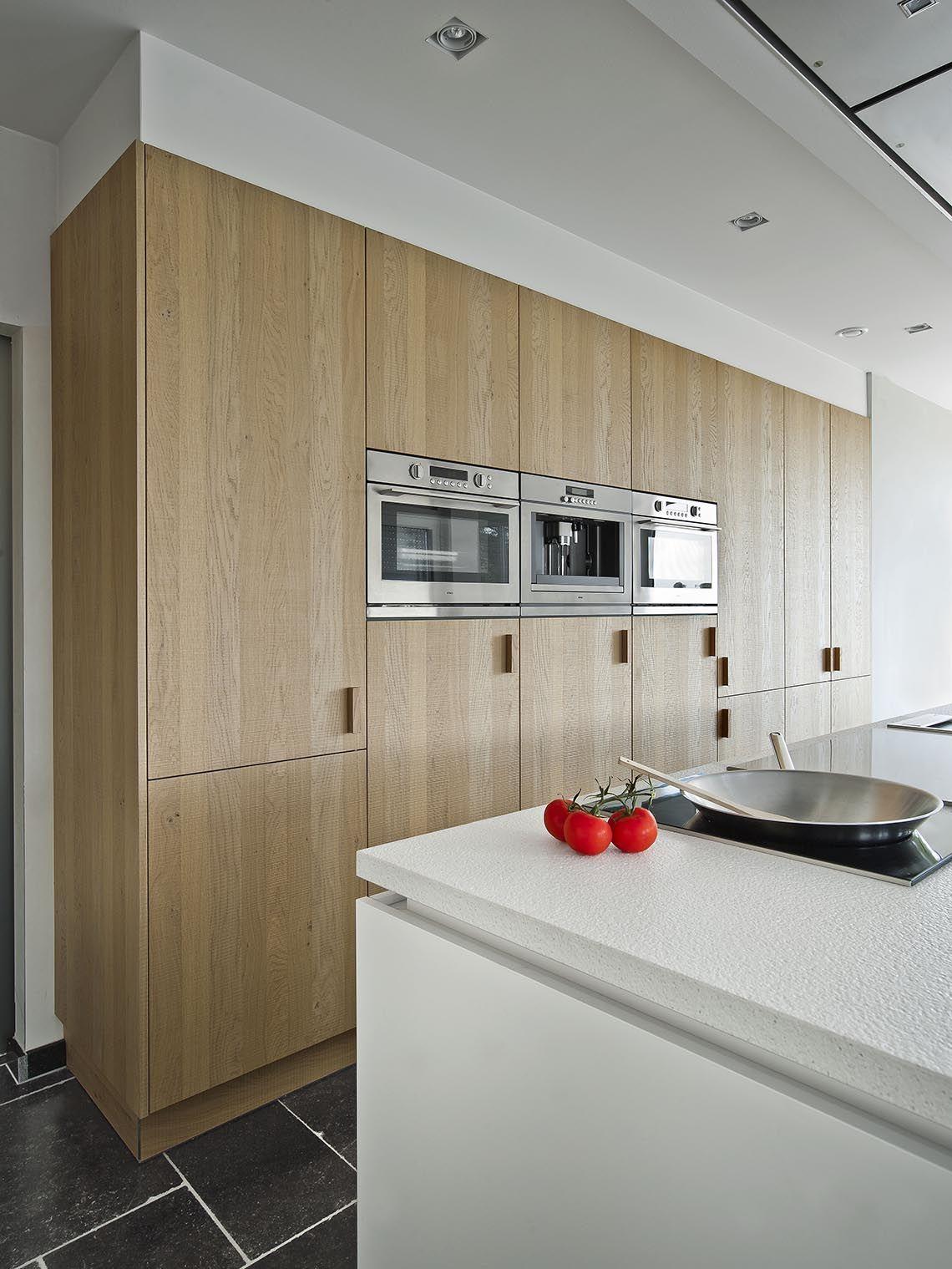Interieur Verkest   Strak wit en hout   Keuken   Luxus Wonen ...