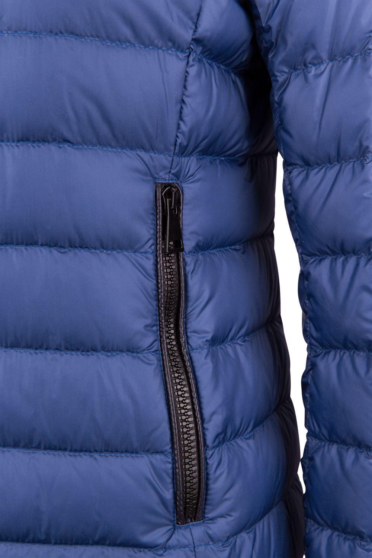 winter daunenjacke damen blau