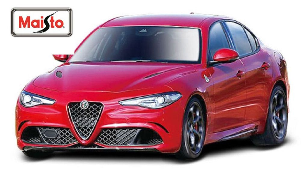 Click To Buy Maisto Bburago 1 24 2016 Alfa Romeo Giulietta Giulia Red Diecast Model Car Toy New In Box F Small Luxury Cars Sports Car Racing Diecast Cars