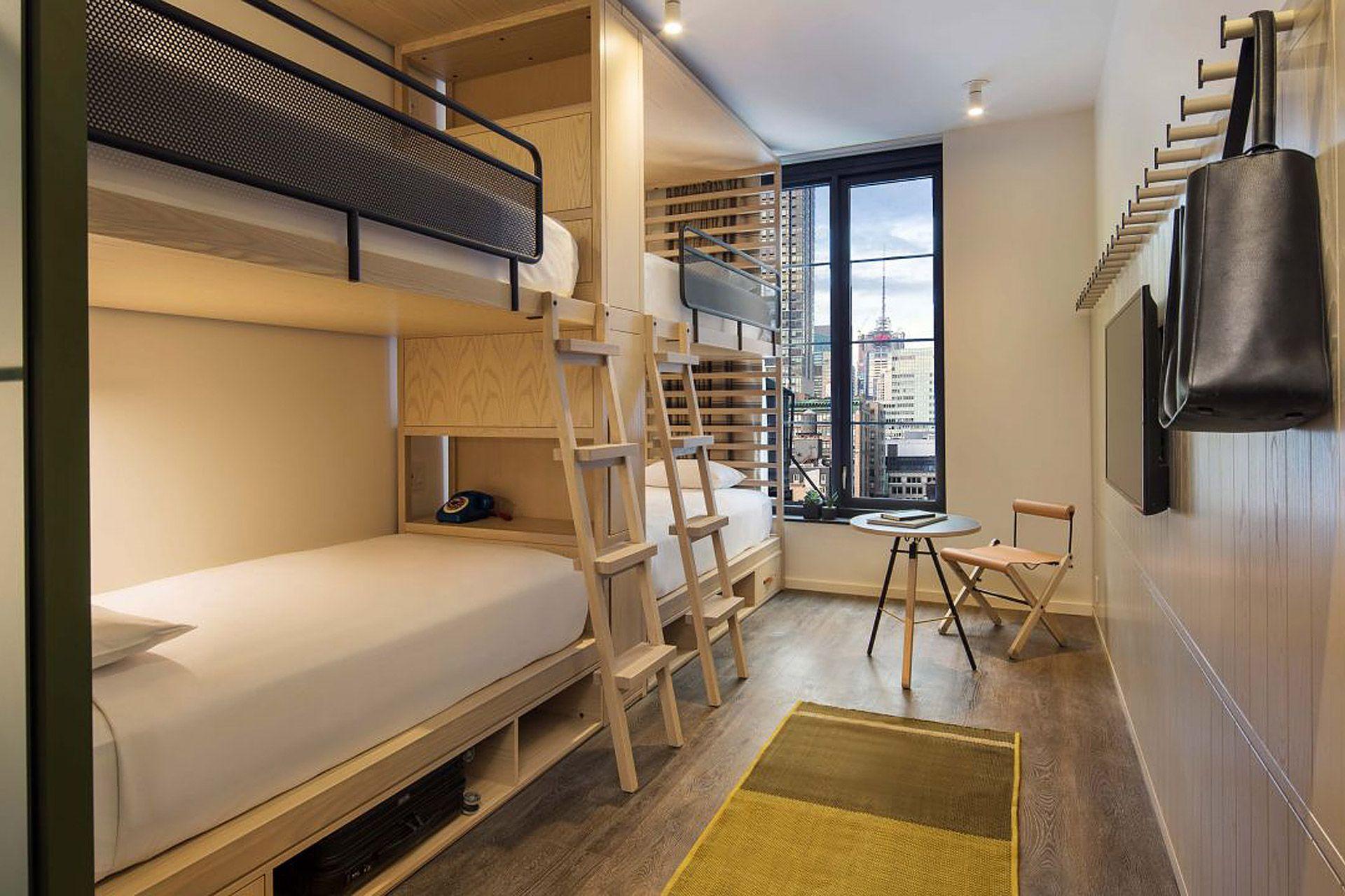 Moxy Chelsea Hotel In 2020 Hotels Room Bunk Beds Chelsea Hotel