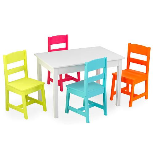 "kidkraft highlighter table & chair set - kidkraft - toys ""r"" us"