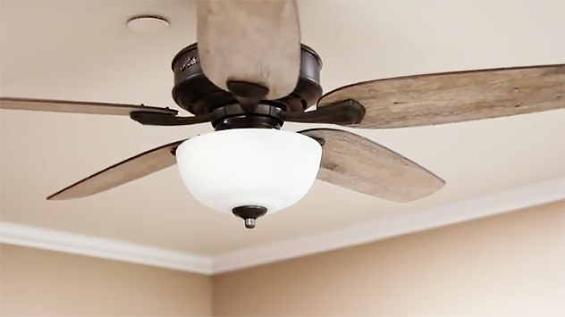 This Ceiling Fan Makes Installation Easy Ceiling Fan Ceiling