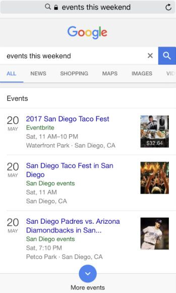 SEO for Events - How to Rank in Google Events Search ...