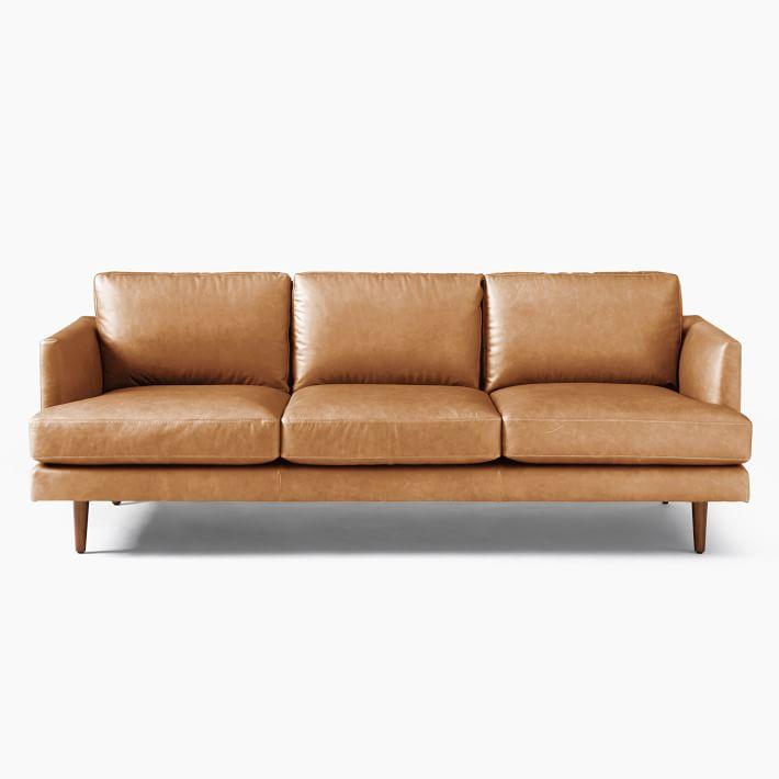 Haven Loft Leather Sofa In 2020 Leather Loft Leather Sofa Genuine Leather Sofa