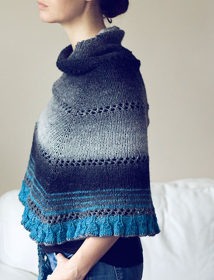 Ravelry: Project Gallery for NoFa Shawl pattern by La Maison Rililie