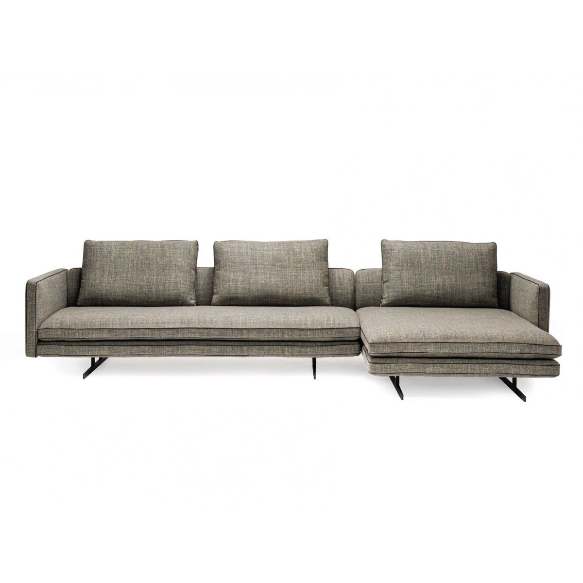 Hoekbank Chaise Lounge.Moss Hoekbank Chaise Longue Design Banken Pinterest
