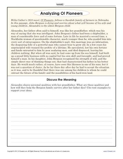 Pin On K12 8th grade inference worksheets