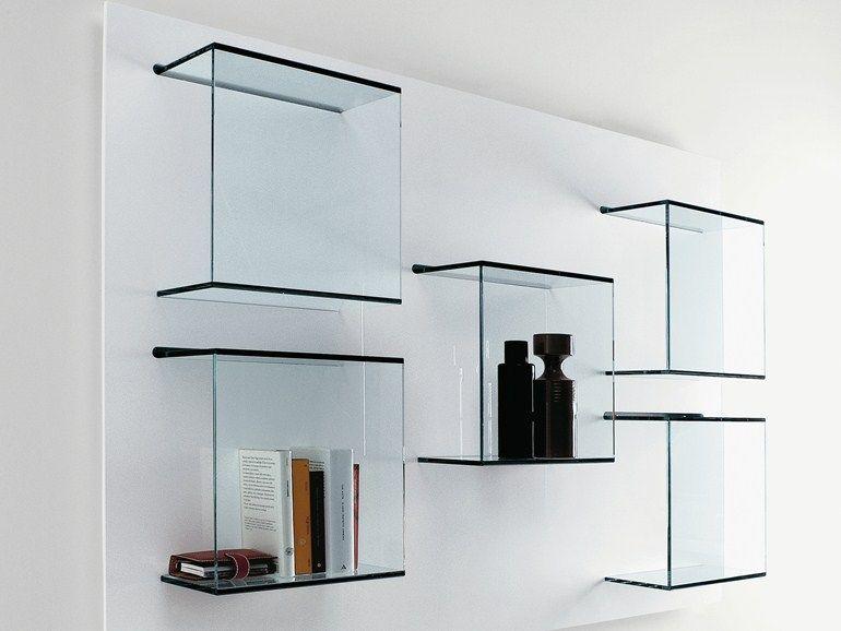Elegant glass libreria bookcase tonelli newlibrarygood.com