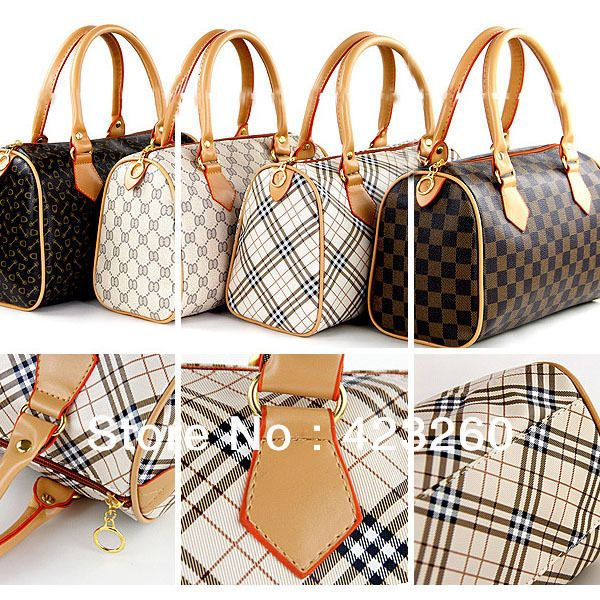 5 style Ladies Vintage Tote Shoulder Bag hobo Leather Bag Speedy Bag Handbag Satchel Free shipping CY0469 Dropshipping-in Shoulder Bags from...