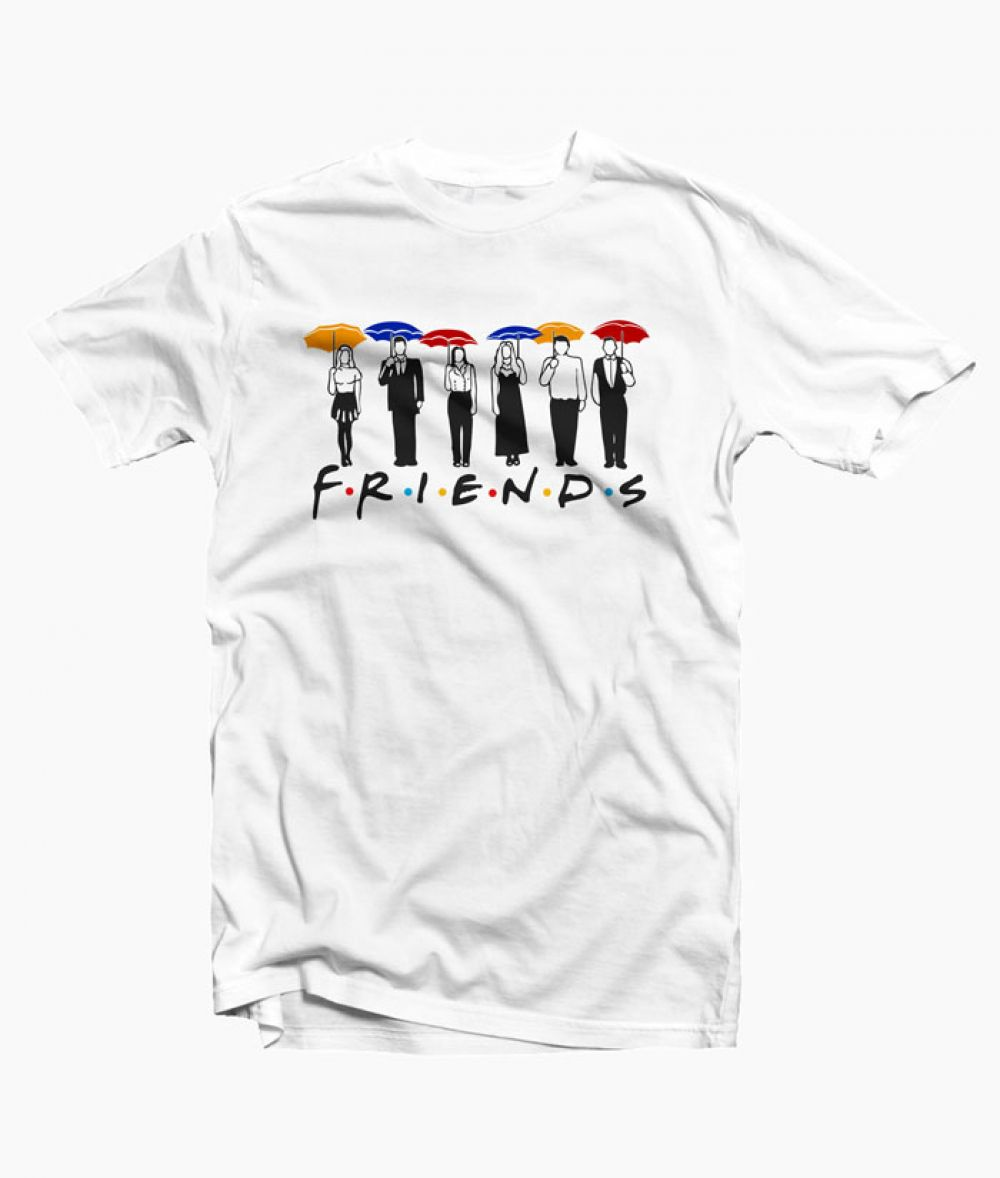 a60f3706a3d Friends Umbrella Design T Shirt Price  15.89   FREE Shipping  graphictees