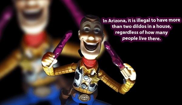 Stupid laws in arizona
