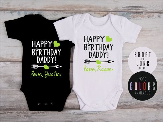 Dad Birthday Gift HAPPY BIRTHDAY DADDY By GlitterCollections