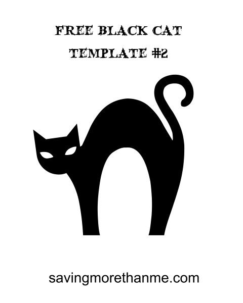 13 Free Halloween Templates and Images {Plus Vintage Party Invite - halloween template