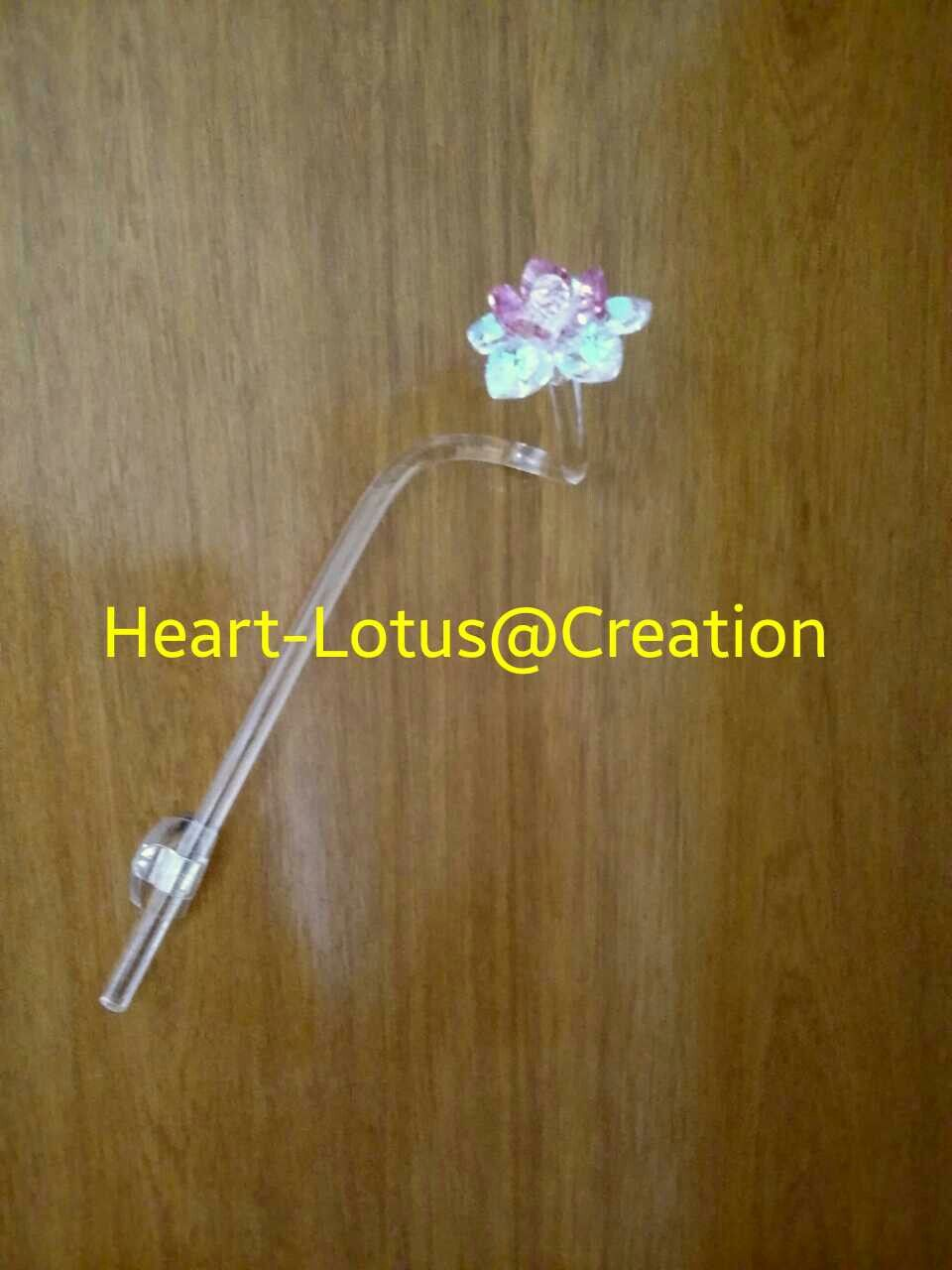 Singke Stalk Sacred Crystal Lotus Flower For Your Door A Sign Of