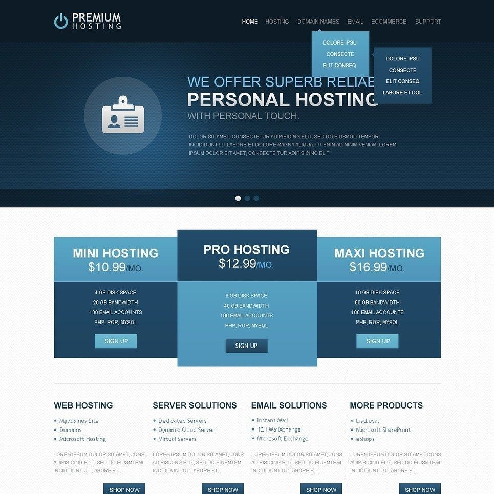 Look How Pretty Yes Or No Hosting Website Template Click Here Live Demo Http Cattemplate Com Template Website Template Best Website Templates Templates