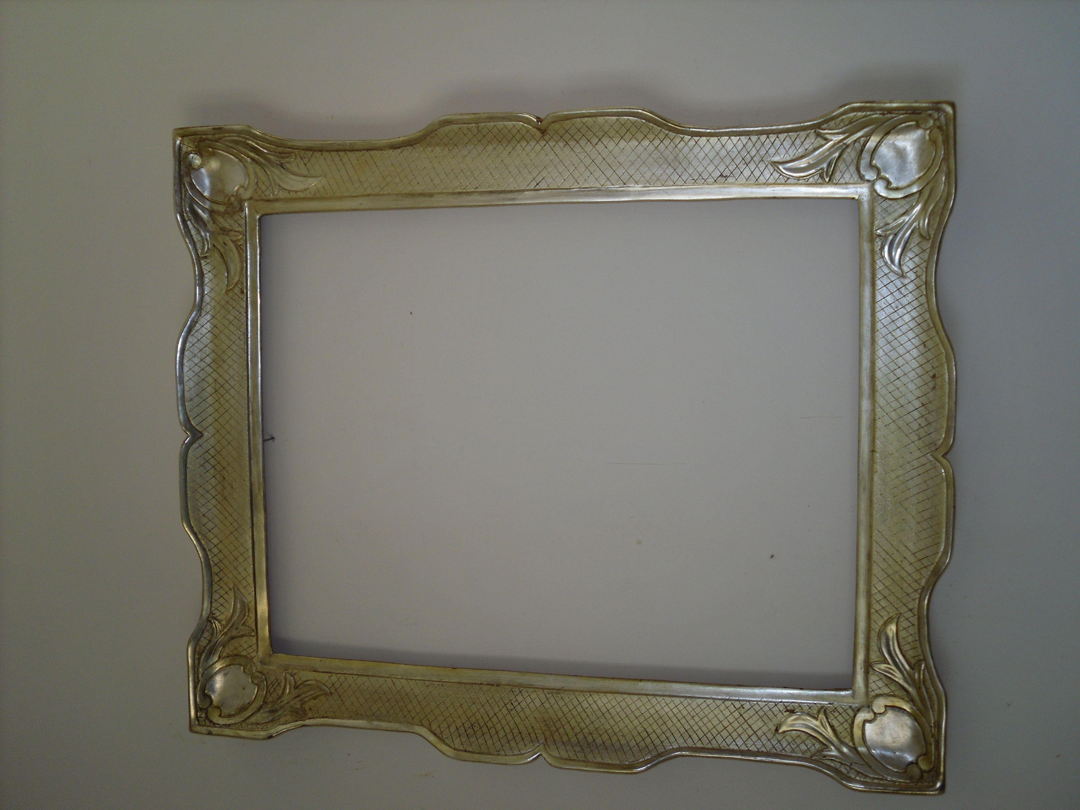 cornice in argento meccato Cornici artigianali, Cornici