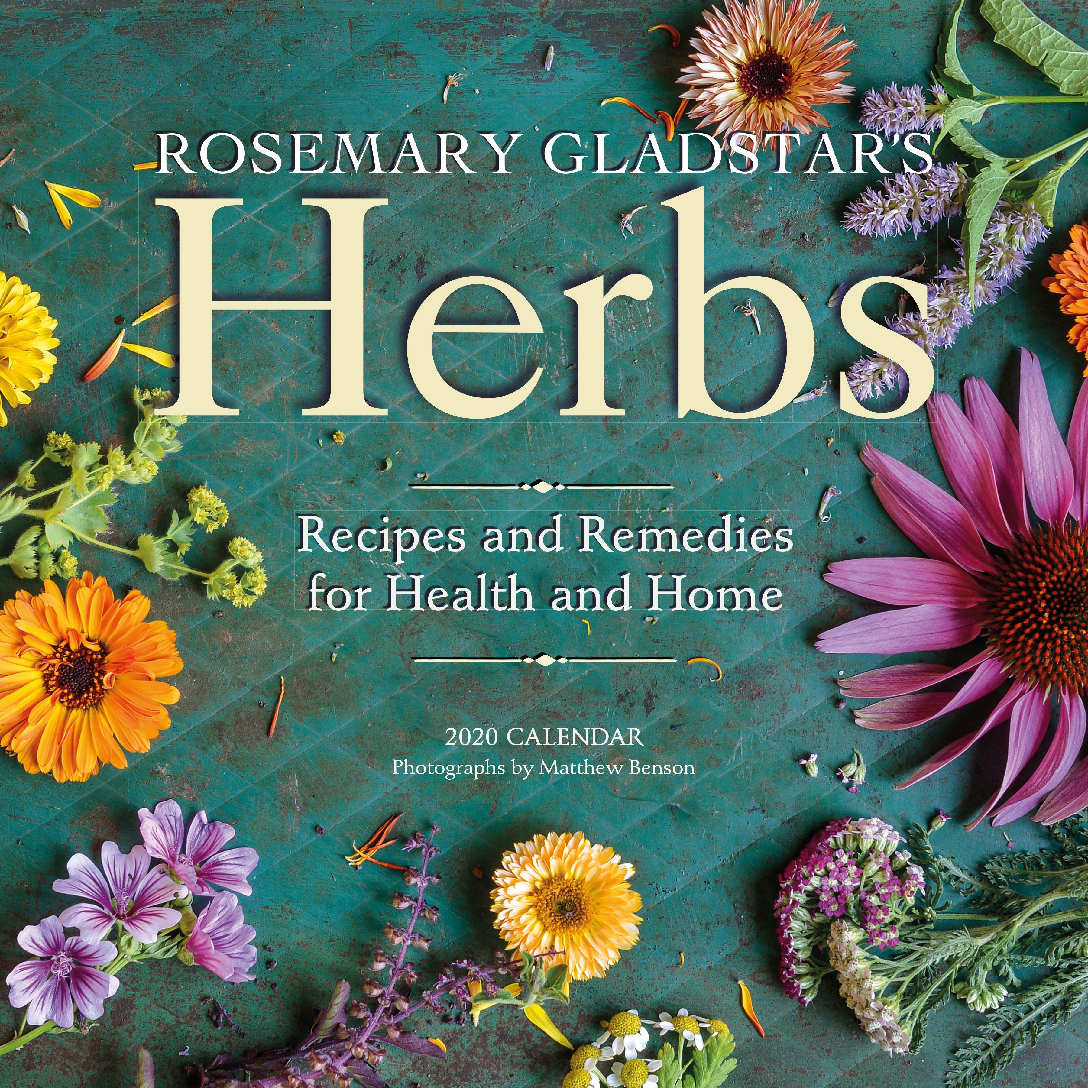 Rosemary Gladstar's 2020 Herbal Calendar Rosemary