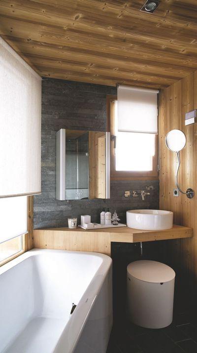 Salle de bains (Duravit) Decoration salle de bain bois